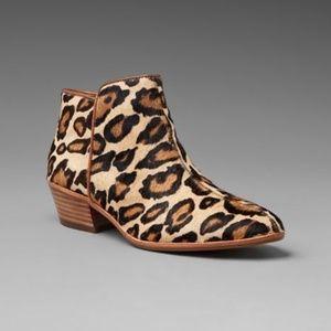Sam Edelman Petty Calf Hair Leopard Ankle Bootie
